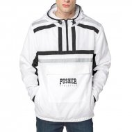 Pusher Apparel Authentic Windbreaker white/black