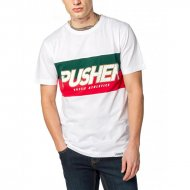Pusher Apparel T-Shirt Hustle white