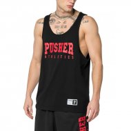 Pusher Apparel Tank Top Athletics black