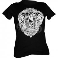 Ruhrpott Illegal Shirt Semper Fidelis Girly Shirt Schwarz