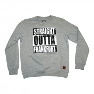 Straight Outta Frankfurt Sweater grau