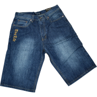 Thug Life Denim Shorts Dark Blue (SALE)