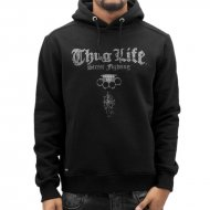 Thug Life Hoody Deadflower in schwarz