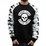 Thug Life Pullover Ragthug in schwarz