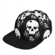 Thug Life Snapback Cap The Scull in schwarz