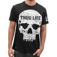 Thug Life T-Shirt Thugstyle in schwarz