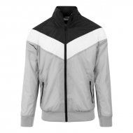 Urban Classic Arrow Trainingsjacke light grey/black/white