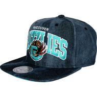 Vancouver Grizzlies Snapback Denim | NBA | Mitchell &...