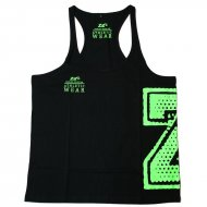 Zec+ - Athletic Stringer Tank Top schwarz
