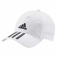 adidas 6Panel 3Stripes Climate Cap white/black