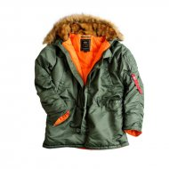 Alpha Industries Winterjacke N3B VF 59 sage-green