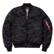 Alpha Industries Bomberjacke MA-1 VF Hidden Camo black