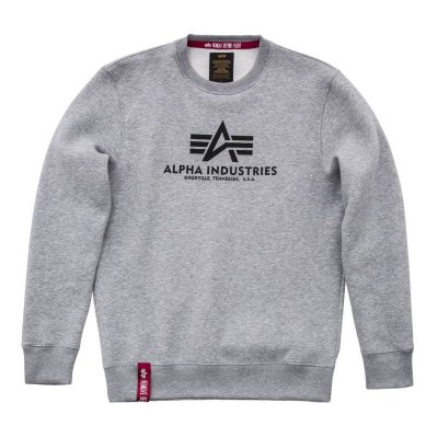 Alpha Industries Basic Sweater heather grey