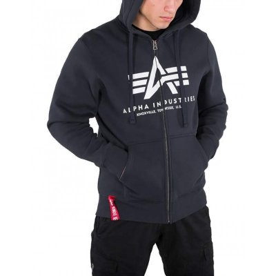 Alpha Industries Basic Zip Hoodie rep. blue