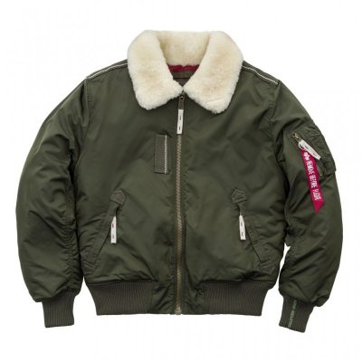 Alpha Industries Bomberjacke Injector III dark green
