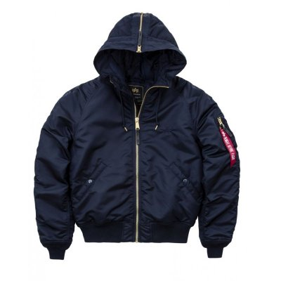 Alpha Industries Bomberjacke N2-B VF PM rep.blue