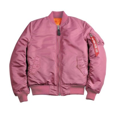 Alpha Industries Damen Bomberjacke MA-1 SF WMN dusty pink