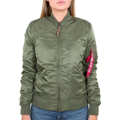 Alpha Industries - MA-1 VF 59 Wmn Damen Bomberjacke sage-green