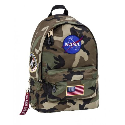 Alpha Industries - Pilot Backpack Nasa wdl camo 65