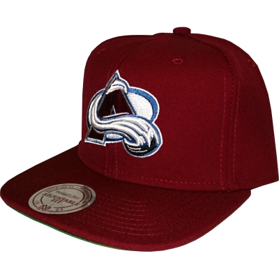 Colorado Avalanche Snapback Big Logo red | NHL | Mitchell & Ness
