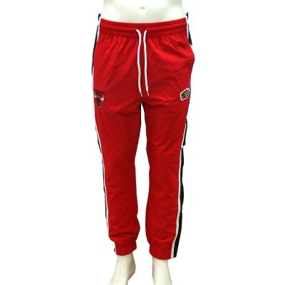 Mitchell & Ness Lifestyle Tear Away Pants Chicago Bulls red