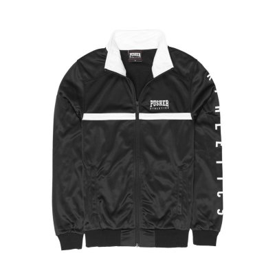 Pusher Apparel Athletics Track Jacket black