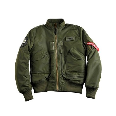 Alpha Industries Bomberjacke Engine dark green