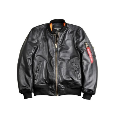 Alpha Industries Bomberjacke MA-1 Leather LW II