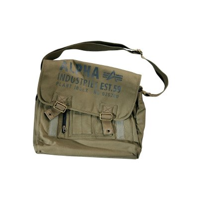 Alpha Industries - Cargo Canvas Courier Bag