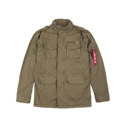 Alpha Industries Feldjacke Huntington olive
