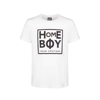 Homeboy T-Shirt Take you home white XXL