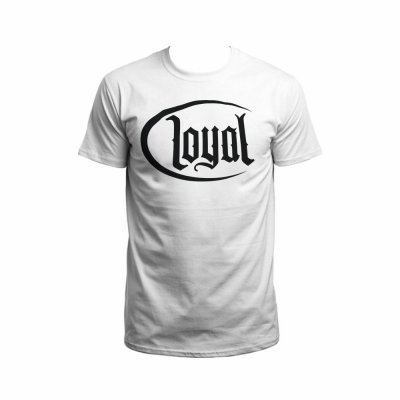 Kontra K T-Shirt Loyal Circle white/black XL