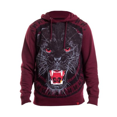 Maskulin Hoodie Panther winered (SALE)