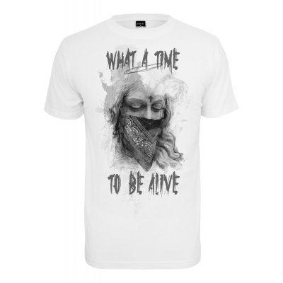 Mister Tee - What a Time T-Shirt weiß