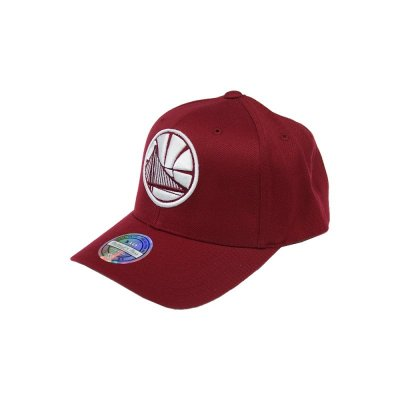 Mitchell & Ness Curved 110 Snapback Golden State Warriors The Burgundy | NBA