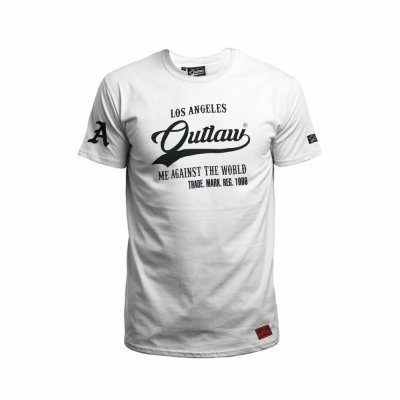 Outlaw T-Shirt Me against the world weiß
