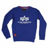 Alpha Industries Kinder Basic Sweater nautical blue