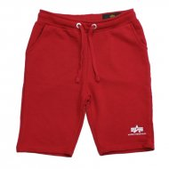 Alpha Industries Kinder Shorts Basic SL speed red