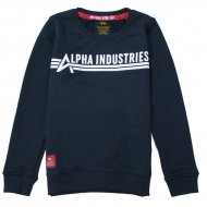 Alpha Industries Kinder Sweater Alpha Industries rep.blue