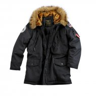 Alpha Industries - Polar Winterjacke schwarz
