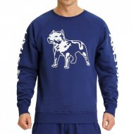 Amstaff Logo Sweater navy