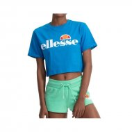 Ellesse Frauen Crop T-Shirt Alberta blue