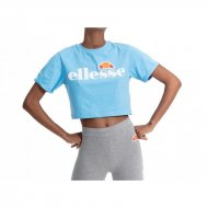 Ellesse Frauen Crop T-Shirt Alberta light blue