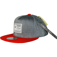 Grimey Disciples Strapback Red / Grey