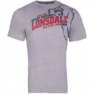 Lonsdale T-Shirt Walkley marl grey