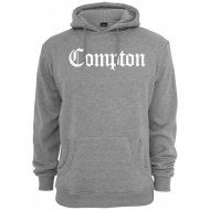 Mister Tee x Artists - Compton Hoodie grey/white