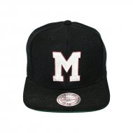 Mitchell & Ness Snapback Montreal Maroons Wool Solid