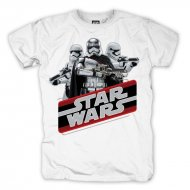 Star Wars - Retro Phasma T-Shirt weiß