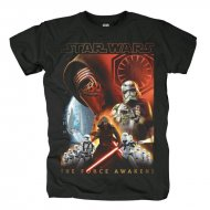 Star Wars - TFA College T-Shirt schwarz
