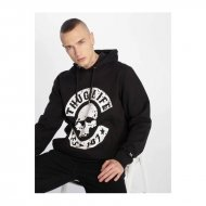 Thug Life B.Distress Hoody Black White